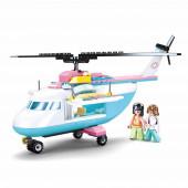 Girls Dream Helicóptero Intervenção Médica 163 peças Sluban