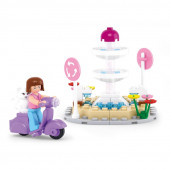 Girls Dream - Rotunda com Fonte Sluban