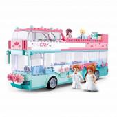Girls Dream Wedding Autocarro 379 peças Sluban