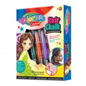 Giz de Cabelo Rapariga Set 5 Peças Mix Normal Colorino