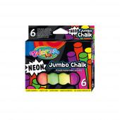 Giz Neon Jumbo 6 Cores Colorino