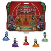 Gormiti 5 Figuras Heroes Pack S2