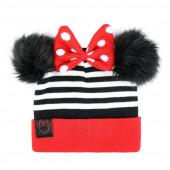 Gorro listado c/ Pompon Minnie Mouse