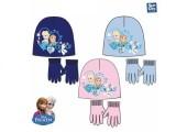 Gorro + Luvas Magicas Frozen Sisters Blue sortido