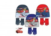 Gorro + Luvas Mc Queen Cars