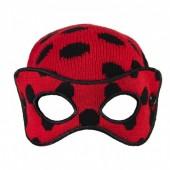 Gorro Premium com mascara de Lady Bug