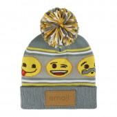 Gorro Premium com pompom Emoji
