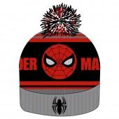 Gorro Premium com pompom Spiderman