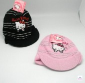 Gorros c/pala Hello Kitty
