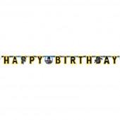 Grinalda Banner Happy Birthday Batman New