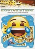 Grinalda Emojis Happy Birthday