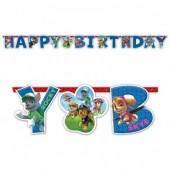 Grinalda Happy Birthday da Patrulha Pata