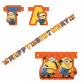 Grinalda Minions Happy Birthday 1.8m