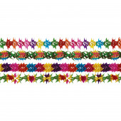 Grinalda Papel Arco-Íris 12cmX4m