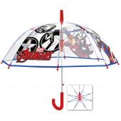 Guarda-Chuva Automático Transparente Avengers 45cm