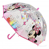 Guarda Chuva Bolha Manual Minnie sortido