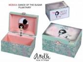 Guarda jóias pequeno musical Anekke - Modelo 1