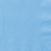 Guardanapos Azul Bebé - 20 und