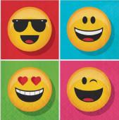 Guardanapos Face Emojis 16 unid