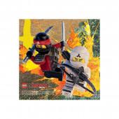 Guardanapos Lego Ninjago 25cm - 16und