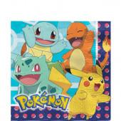 Guardanapos Pokémon 33cm - 16 Und.