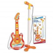 Guitarra Baby Eletrónica com Microfone