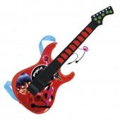 Guitarra com microfone Ladybug