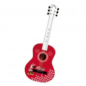 Guitarra de madeira Minnie Disney