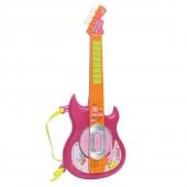 Guitarra Elétrica Infantil com Sons Girl 3+