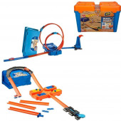 Hot Wheels Track Builder Sortido