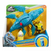 Imaginext Mosasaurus e Diver  dinossauro