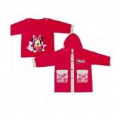Impermeável vermelho Minnie