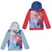 Jaqueta polar com capuz e fecho de Frozen