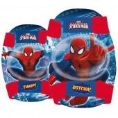 Joelheiras Cotoveleiras Spiderman