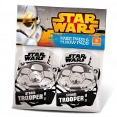 Joelheiras Cotoveleiras Star Wars Stormtrooper