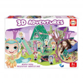 Jogo 3D Adventures Fadas