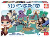 Jogo 3D Adventures Piratas