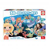 Jogo 3D Adventures Sereias