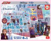 Jogo 8 em 1 Frozen 2 Disney