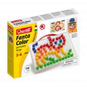 Jogo Arte Visual Pixel 100 Pinos 5 Cores Quercetti