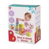 Jogo blocos Stick & Stack - PlayGo