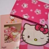 Jogo Cama lençois Casal Hello Kitty