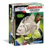 Jogo Ciência Arqueologia Piranha