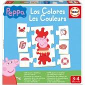 Jogo das cores Porquinha Peppa