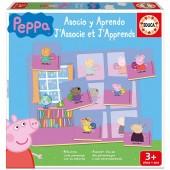 Jogo de Associação e Aprendizagem Porquinha Peppa