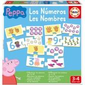 Jogo dos números Peppa Pig