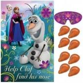 Jogo Encontra o Nariz do Olaf