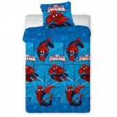 Jogo lençol cama Marvel Spiderman Web 90cm