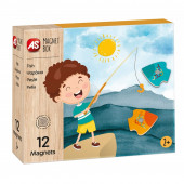 Jogo Magnet Box Madeira - Jogo da Pesca