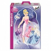 Jogo Magnetics Vestir a Cinderela Princesas Disney